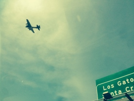 B-17 bomber, Sunnyvale, Calif., May 2014